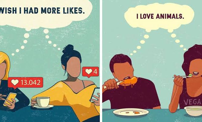Artist Shows The Problems Of Our Society Through 17 Illustrations