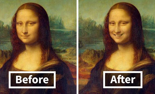 15 Famous Portraits Given A Smile Using Faceapp