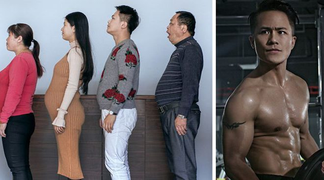 This Chinese Family Spent 6 Months Working Out: Before-and-After Photos